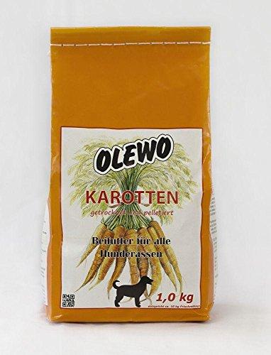 Olewo Granulés de carotte pour chien