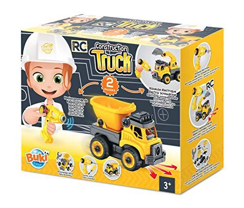 Buki France- Camion de chantier RC Obras, Color (9020)