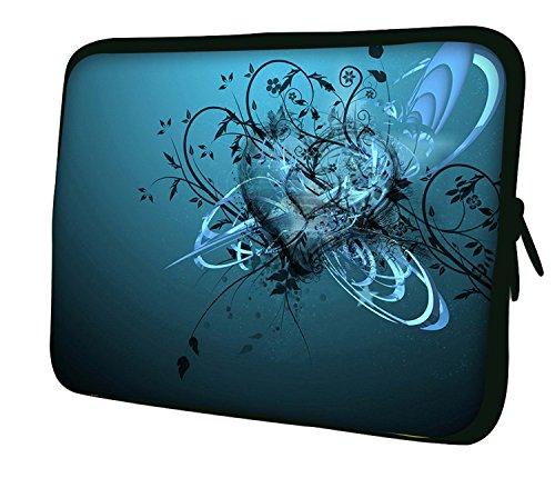 Ektor LUXBURG® 14 Zoll Notebooktasche Laptoptasche Tasche aus Neopren Schutzhülle Sleeve für Laptop/Notebook Computer