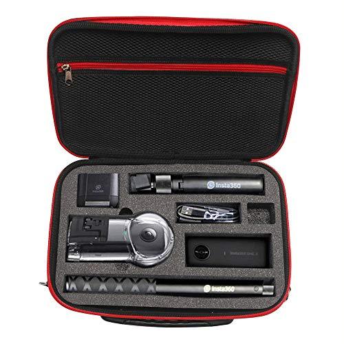 Tineer Portable Housse de Transport Sac de Rangement Protecteur pour Appareil Photo Insta 360 X Action Accessoires