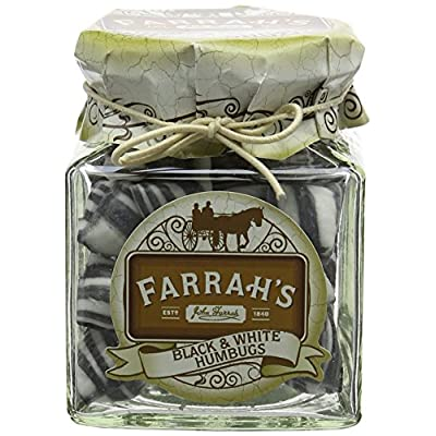 farrah's of harrogate black and white humbugs sweet jar 150 g Farrah's of Harrogate Black and White Humbugs Sweet Jar 150 g 51p8aoH8bEL