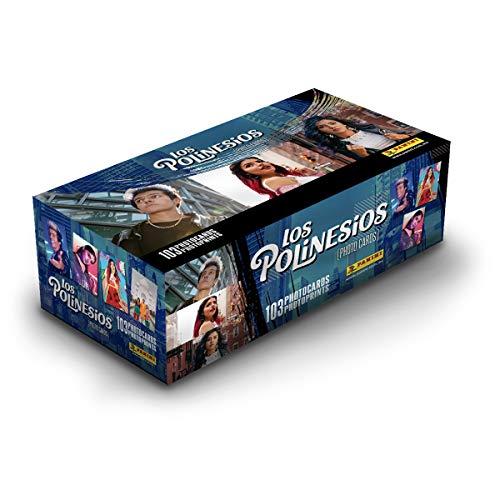 Caja Photo Cards Los Polinesios. 24 sobres con 6 photocards