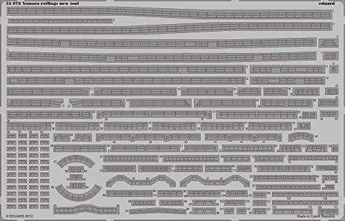 Eduard Photoetch 1:350 - Yamato Railings (Tamiya TAM78025) (EDP53073)