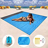 Best Beach Blanket Sand Frees - HONGVI Sand Free Beach Blanket, Quick Drying Ripstop Review