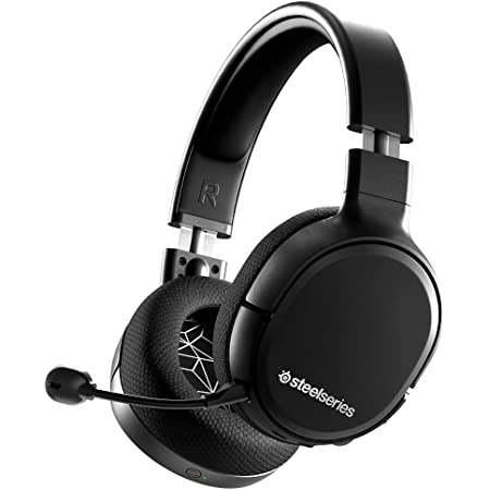 SteelSeries Arctis 1 Wireless Auriculares inalámbricos para juegos – USB-C Inalámbrico – PC / PS5 / PS4 / Nintendo Switch / Android – Negro