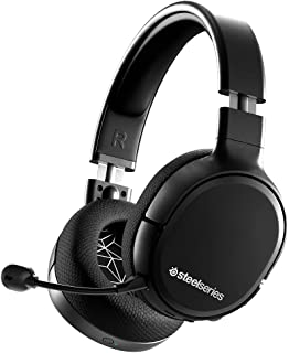 SteelSeries Arctis 1 Wireless - Wireless Gaming Headset - USB-C - Detachable Clearcast Microphone - for PC, PS5, PS4, Nint...