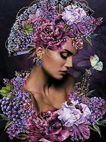 1000 Piezas Rompecabezas Hogar Niña de Las Flores Marco de Fotos Decoración Puzzles de Madera para Adultos 70x50cm
