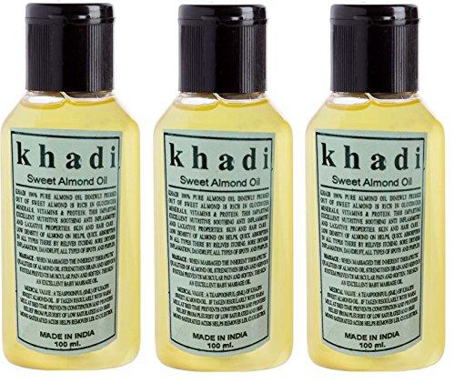 Khadi Herbal Sweet Almond Oil 300 ml
