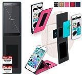 reboon Hülle für Oukitel U13 Tasche Cover Case Bumper | Pink | Testsieger