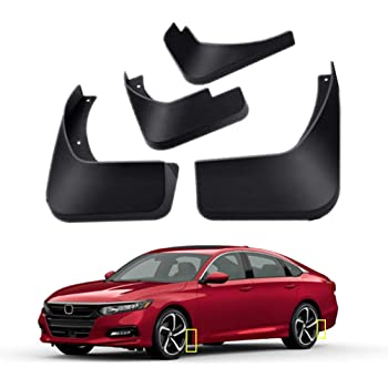 A-Premium Splash Guard Mud Flaps Replacement for Honda Accord 2013-2017 Excluding Sport Sedan Front and Rear 4-PC Set