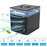 Portable Air Cooler, NEXFAN Evaporative Cooling Fan USB Small Personal Space Air Conditioner Cooler and...