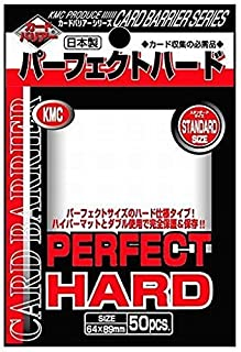 10 set!!! /// KMC Card Barrier sleeve PERFECT HARD from Japan