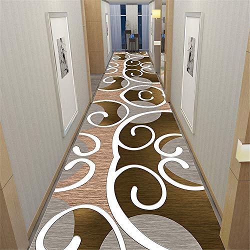 Amcerd Tapis de Couloir Long, Tapis sur Mesure Interieur, Parfait pour La Chambre pour Cuisine, Couloir, Passage, Chambre - 40x180cm