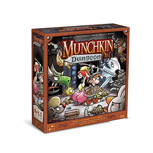 Munchkin Dungeon - Gioco da Tavolo Edizione in Italiano (8726 ASMODEE ITALIA)