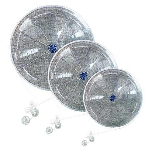 LUX295 - DIAM.160 - Aeratore da finestra con A/C manuale e retina anti insetto