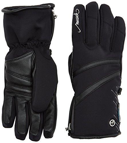 Reusch Damen Lore STORMBLOXX Handschuhe, Black/Silver, 8