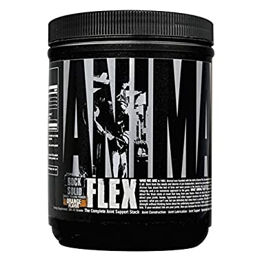 Universal Nutrition Animal Flex Powder Complete Joint Support Supplement, Orange