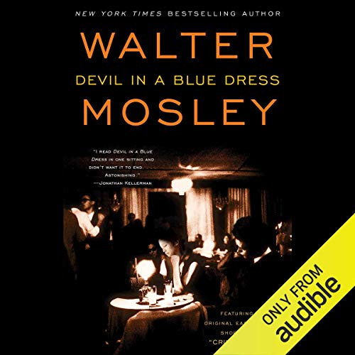 Devil in a Blue Dress audiobook cover art