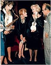 Some Like It Hot Marilyn Monroe With Cast Holding Ukulele 8 x 10 Photo