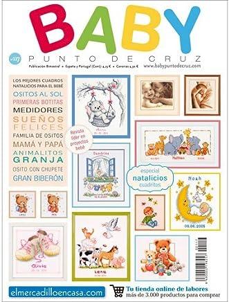 Amazon.es: punto de cruz bebe: Libros