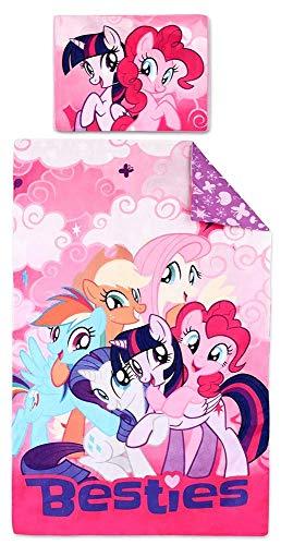 SETINO Bettwäsche Set My Little Pony 160x200+70x80 cm 100% Baumwolle Muster 710-279