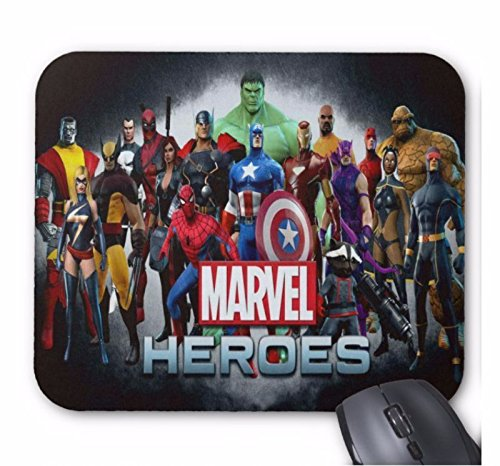 Spiderman Tapis de souris rectangulaire Super Heroes Marvel 5 mm d