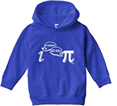 Be Rational, Get Real - Funny Nerdy Toddler/Youth Fleece Hoodie