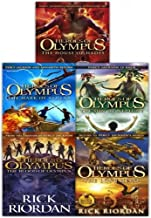 Heroes of olympus Complete Collection 5 Books Set by Rick Riordan