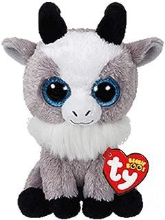 La Dran Ty Beanie Plush Toy Owl Penguin Dog Giraffe Cat Raccoon Sheep Bat Cattle Plush Animal Toy Gift for Children 15cm Gabby The Goat
