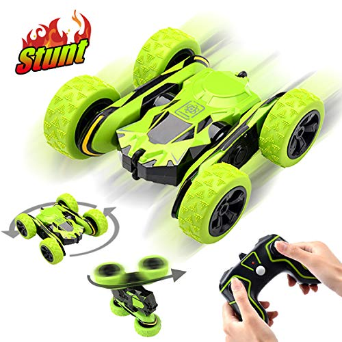Toys for 5-12 Year Old Boys Pussan Remote Control Car for Kids Stunt RC Cars 2.4 GHz Monster Trucks RC Crawler Off Road 360 Degree Rotation Summer Beach Toy Christmas Birthday Gifts for Children