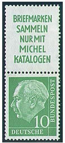 Goldhahn BRD Bund Zusammendruck S23 postfrisch  Heuss 1955 (R2+10) Briefmarken für Sammler