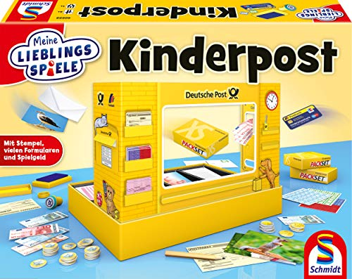 Schmidt Spiele 40555 Kinderpost, Kinderspiel, Meine Lieblingsspiele, bunt