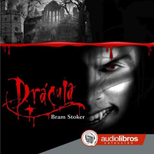 Drácula audiobook cover art