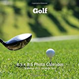 Golf 8.5 X 8.5 Calendar September 2021 -December 2022: Monthly Calendar with U.S./UK/ Canadian/Christian/Jewish/Muslim Holidays-Golf Sports and Recreation