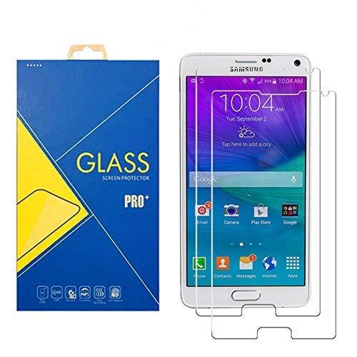 [2 Pack] Protector Cristal Vidrio Templado Samsung Galaxy Note 4 SM-N910 /...