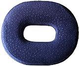 Foam Rollstuhlkissen, orthopädische Kissen, Autositze, weich, atmungsaktiv, verwendet in den Knochen zu lindern Rückenschmerzen, geeignet für Bürostühle,Blue