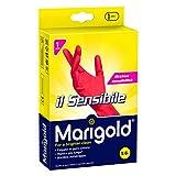 Marigold Guanti in Puro Lattice di Goma Naturale, S