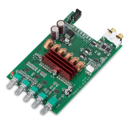 HiFi Bluetooth 5.0 Digital Amplifier Board DIY 2.1 Channel Subwoofer Amp APTX-HD