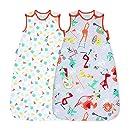 Grobag Pack de 2 Sacos para dormir bebé 1.0/2.5 tog, Multicolor,Grobag Pack de 2 Sacos para dormir bebé 1.0/2.5 tog, Multicolor, 4,8 de un máximo de 5 ...