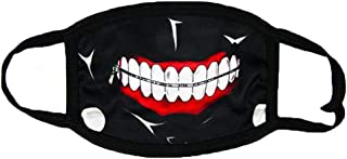 Kaneki Ken Mouth Mask Anime Halloween Cosplay Props Cycling Face Masks Accessories Cotton