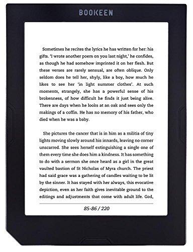 Bookeen Cybook Muse Light lettore e-book Touch screen 8 GB Wi-Fi Nero