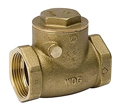 "Mueller Check Valve < 0.25 % Lead Swing 1/2 "" Ips Brass Bulk from Mueller Industries"