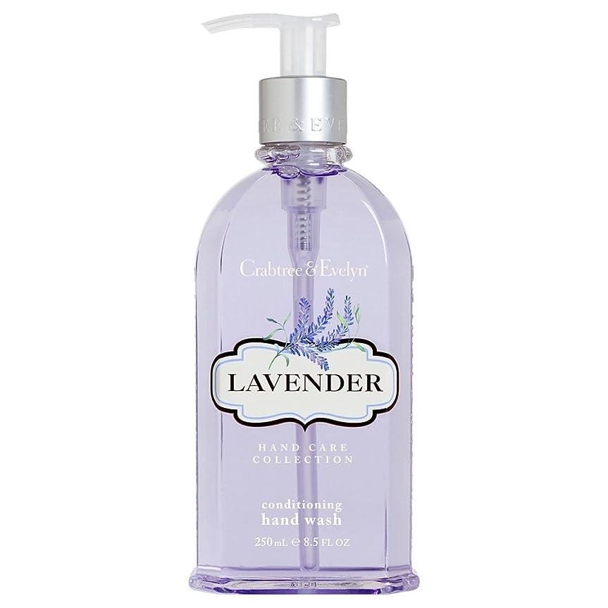 テセウス複数期待してクラブツリー&イヴリンラベンダーコンディショナーハンドウォッシュ250ミリリットル (Crabtree & Evelyn) (x2) - Crabtree & Evelyn Lavender Conditioning Hand Wash 250ml (Pack of 2) [並行輸入品]