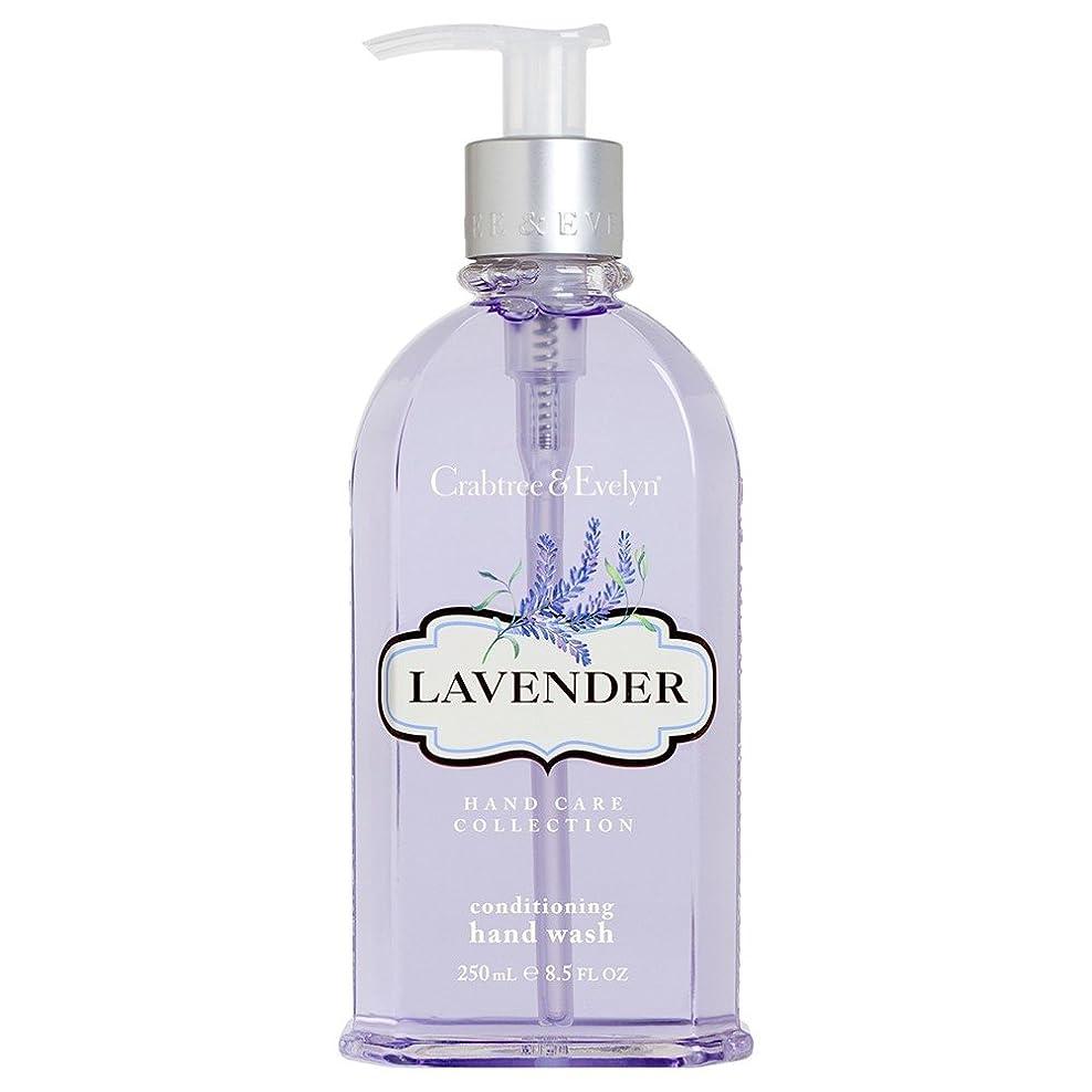 否定するドールポーズクラブツリー&イヴリンラベンダーコンディショナーハンドウォッシュ250ミリリットル (Crabtree & Evelyn) (x6) - Crabtree & Evelyn Lavender Conditioning Hand Wash 250ml (Pack of 6) [並行輸入品]
