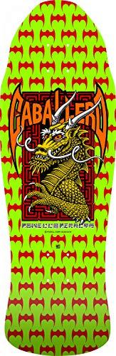 Powell Peralta Unisex-Erwachsene Caballero Street Dragon • Lime Green • 9.625