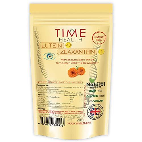 Lutein: Formel Lutein 40 mg, Zeaxanthin 2 mg (120 Kapseln - Beutel) (120 Capsules)