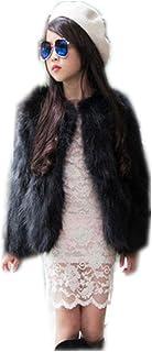 qmfur ファッションレザーコートシルバーフォックスコート