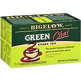 Bigelow Green Tea Chai, 20 Count Box (Pack of 6), Caffeinated Green Tea, 120 Tea Bags Total