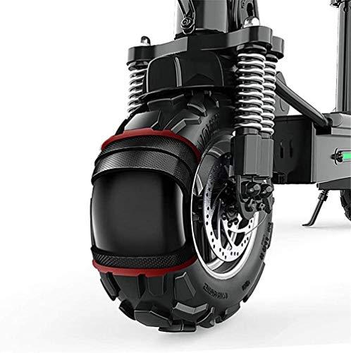 Pequeño vehículos todoterreno Ciclomotor adulto dos neumáticos 11 pulgadas de vacío de...