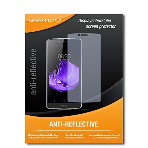SWIDO Bildschirmschutz für TP-Link Neffos C5L Dual-SIM [4 Stück] Anti-Reflex MATT Entspiegelnd, Hoher Festigkeitgrad, Schutz vor Kratzer/Glasfolie, Schutzfolie, Bildschirmschutzfolie, Panzerglas Folie